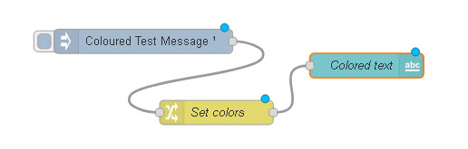 set-colored text