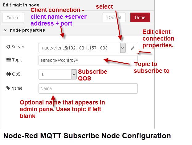 Node-Red-MQTT-Subscribe-Node-Configuration